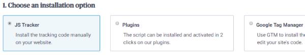 Choose an installation option (SendInBlue)